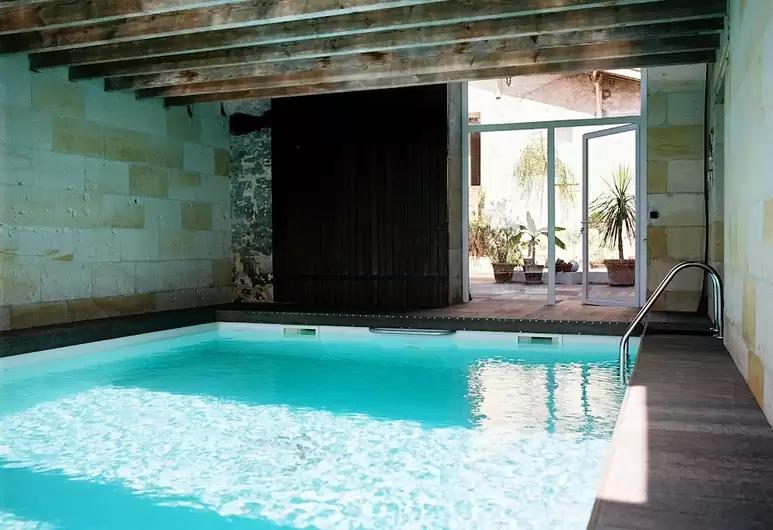 Maison d'hote piscine intérieure St Emilion