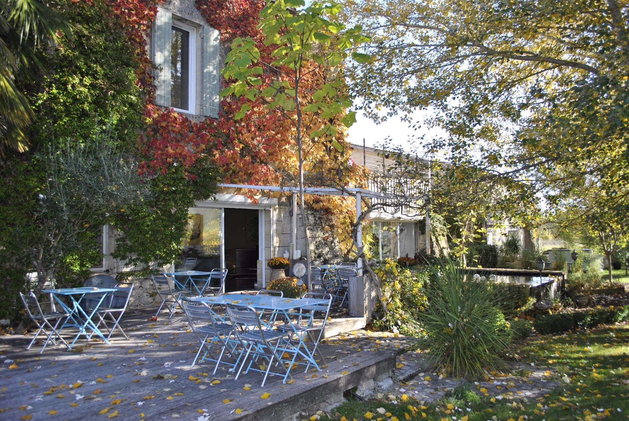 Maison d'hote Jardin gîte villa St Emilion