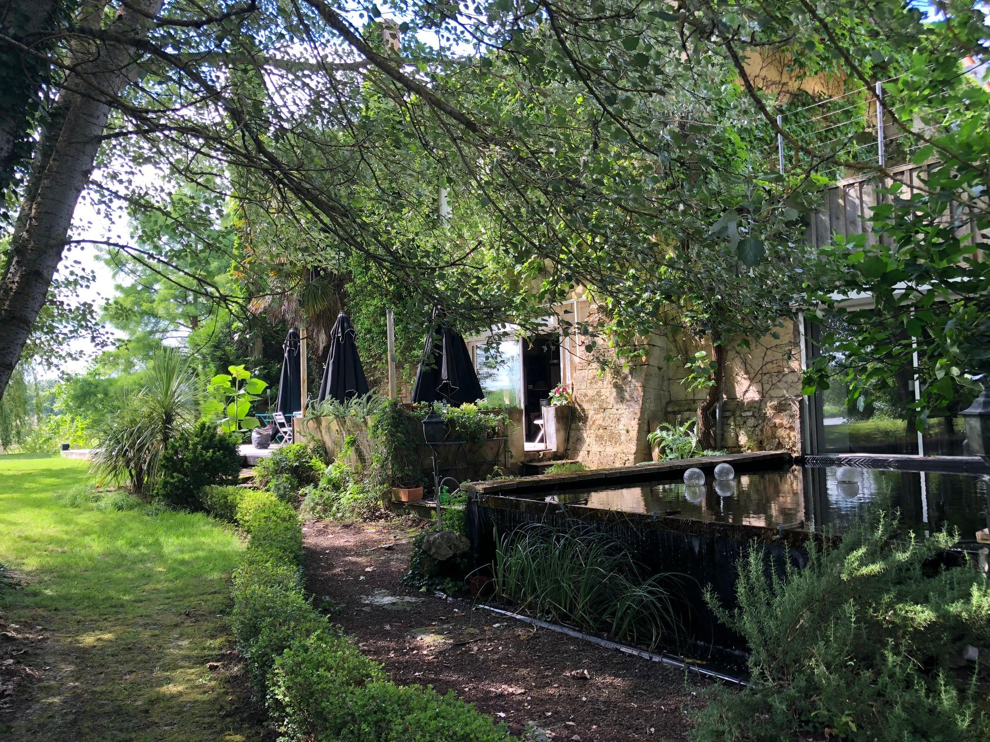 Maison d'hote piscine Saint Emilion